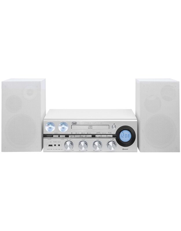 Trevi HF 1900 BT SILVER HIFI audio sistema CD /MP3/ USB /RADIO BLUETOOTH®